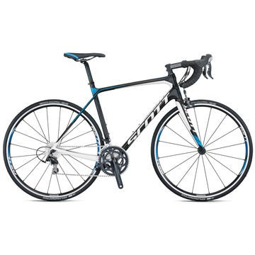913167d2e3d Scott 2016 Contessa Solace 35 Bicycle 51cm, Small Full Carbon White, Black,  Gray, Blue