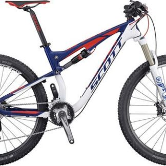 f86094aee42 Scott 2016 Spark 730 Bicycle Carbon Mainframe, Alloy Rear White, Blue, Neon  Red