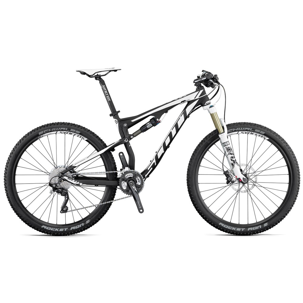 a2731df7319 Scott 2015 Spark 740 Bicycle Alloy Black, White