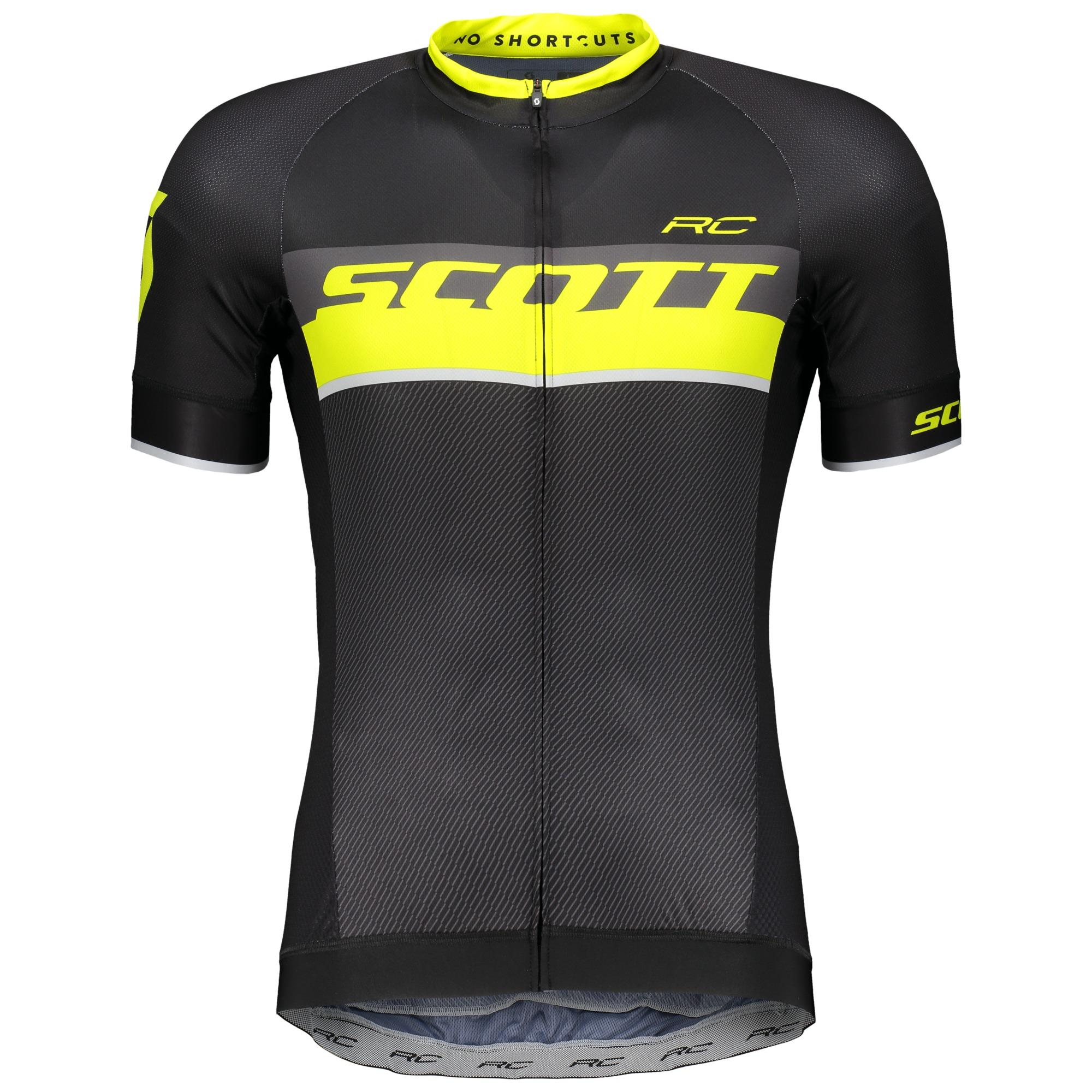 Scott RC Pro Jersey Extra Large 100% Polyester Black ... cb02e3725