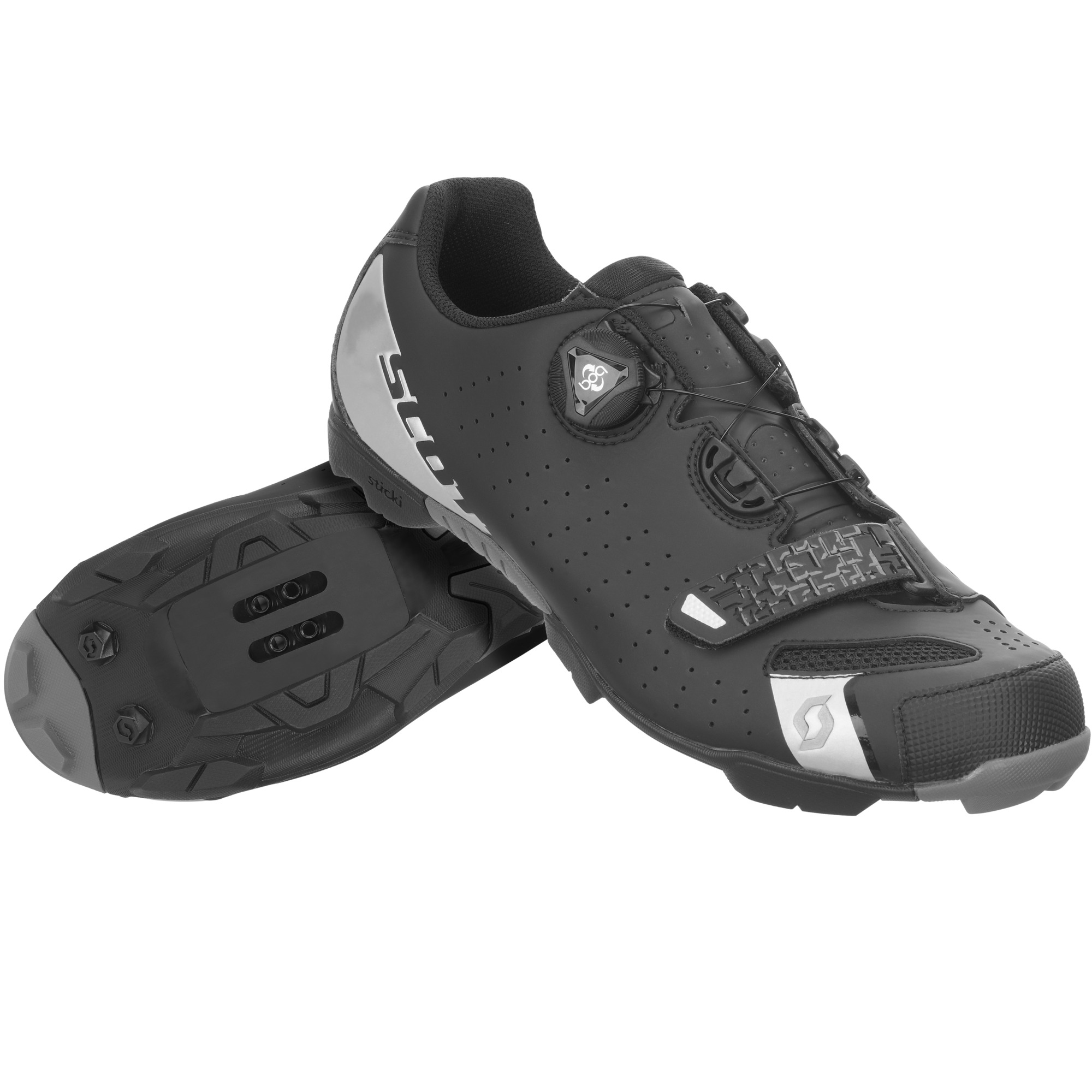 Scott Mtb Comp Boa Shoes 48 Outsole Composite Two Component Pu